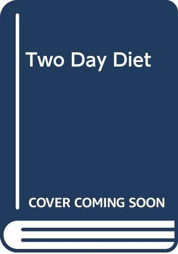 9780330310246: Two Day Diet