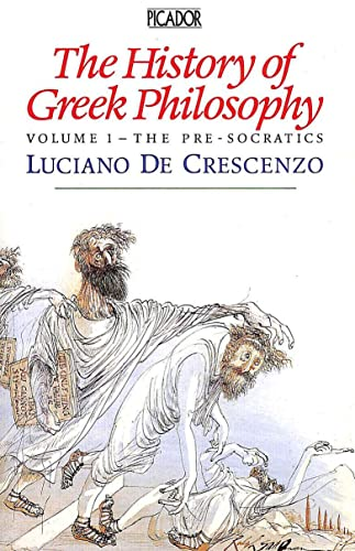 9780330311175: The History of Greek Philosophy: v. 1 (Picador Books)