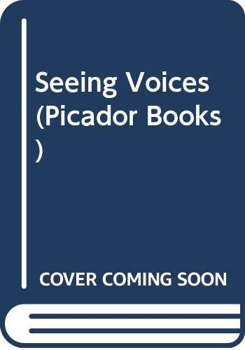 9780330311618: Seeing Voices (Picador Books)