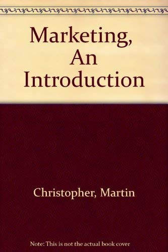 9780330320467: Marketing: An Introduction