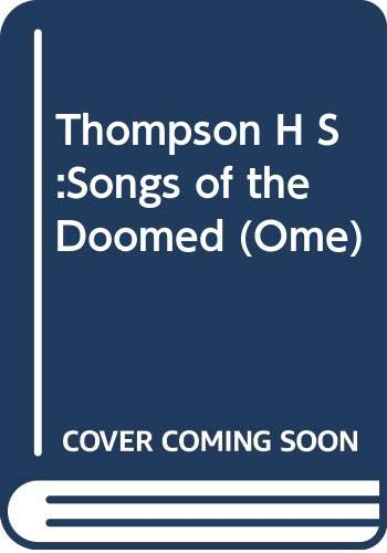 9780330321792: Songs of the Doomed