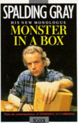 Monster in a Box (Picador Books): Spalding Gray