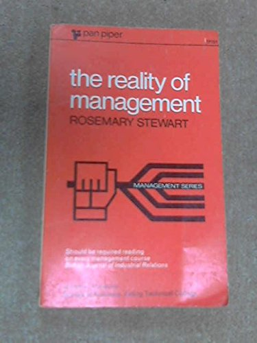 9780330331517: REALITY OF MANAGEMENT (PIPER S.)