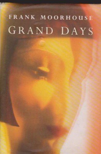 9780330331890: GRAND DAYS