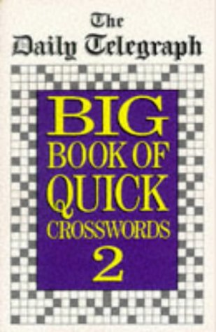 9780330336666: Daily Telegraph Big Book Quick Crosswords 2: No.2