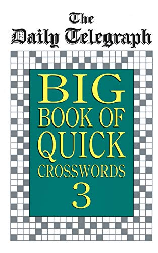 9780330338998: Daily Telegraph Big Book Quick Crosswords 3