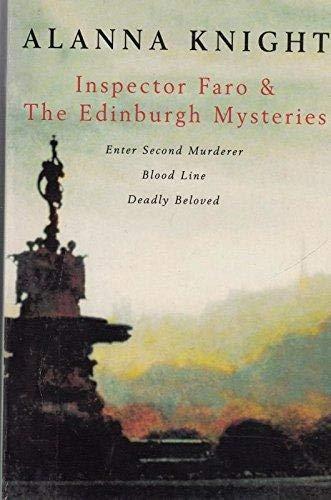 "Inspector Faro and the Edinburgh Mysteries: ""Enter Second Murderer"", ""Blood Line&..."