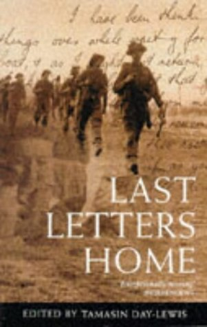 Last Letters Home: TAMASIN DAY-LEWIS (EDITOR)