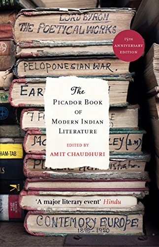 9780330343640: Picador Book of Modern Indian Literature