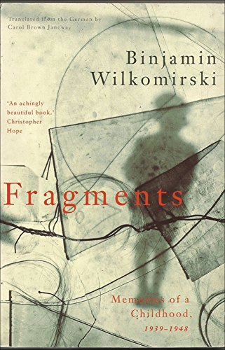 Image result for Binjamin Wilkomirski Fragments