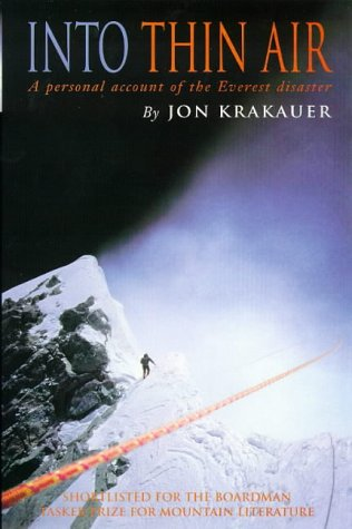 9780330353977: Into Thin Air: Personal Account of the Everest Disaster