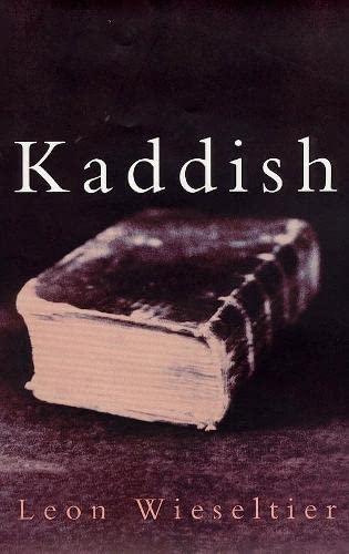 Kaddish: Leon Wieseltier