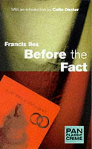 9780330373159: Before the Fact (Pan Classic Crime)
