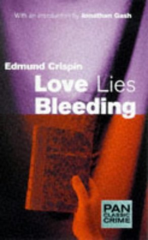 9780330373821: Love Lies Bleeding (Pan Classic Crime)