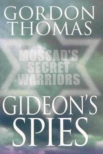 9780330375375: Gideon's Spies: Moss Secret War PB