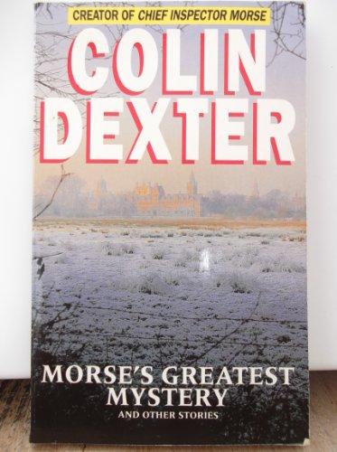 9780330376426: Spec Edn Morse, s Greatest Mystery