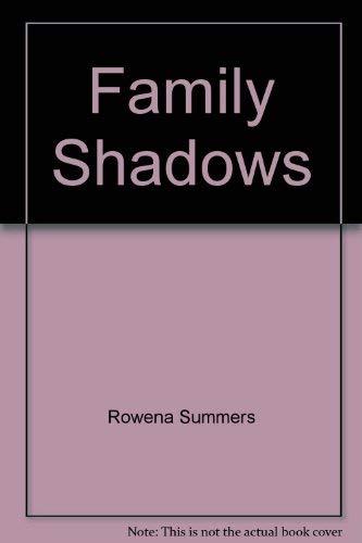 9780330377263: Family Shadows (Pb)
