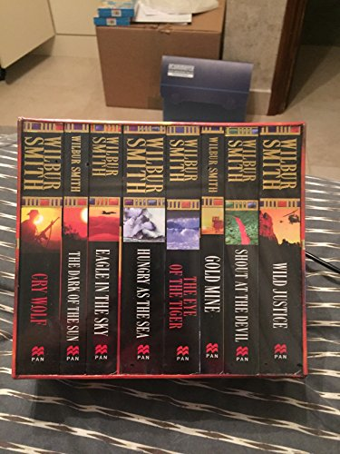 Wilbur Smith x 8 Boxed Set (Spl) (0330414860) by Zzz