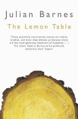 9780330426923: The Lemon Table