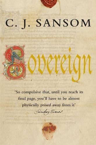9780330436083: Sovereign: A Matthew Shardlake Mystery (Matthew Shardlake Mysteries)