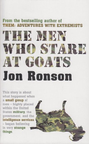 9780330436465: Men Who Stare at Goats (PB) (A Fmt)
