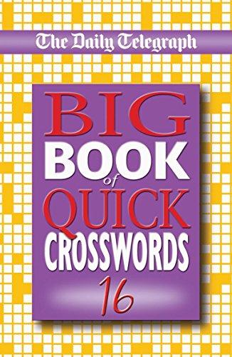 9780330442831: Daily Telegraph Big Book of Quick Crosswords 16