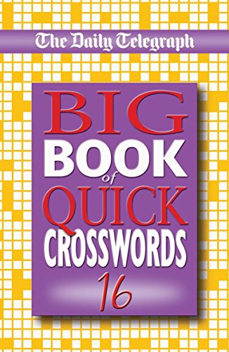 9780330442831: The Daily Telegraph Big Book of Quick Crosswords 16 (No. 16)