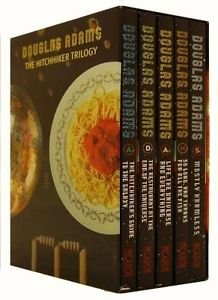 Hitchhiker's Guide to the Galaxy (5 Books Set): Douglas Adams