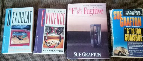 D is for Deadbeat/E is for Evidence/F is for Fugitive: Sue Grafton