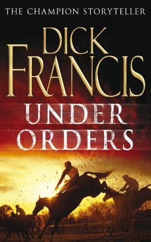 9780330448338: Under Orders