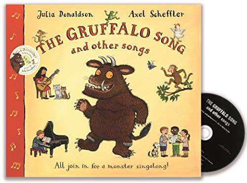 9780330448437: The Gruffalo Song and Other Songs Book and CD Pack