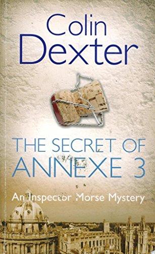 9780330479677: The Secret of Annexe 3 (Inspector Morse, #7)