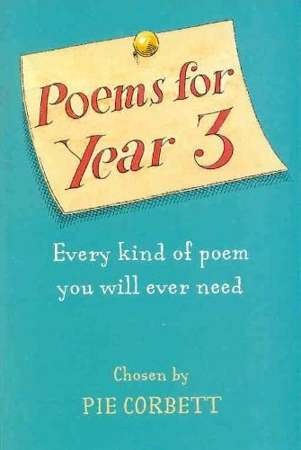Poems for Year 3 (0330482882) by Corbett, Pie