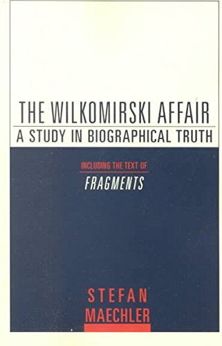 Wilkomirski Affair: Maechler, Stefan
