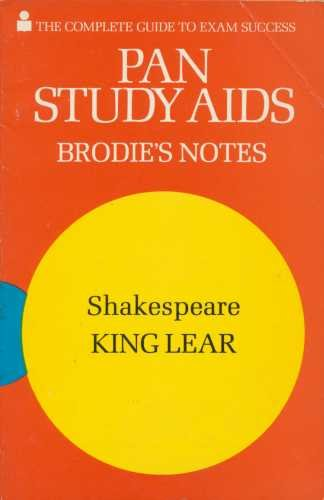 "9780330500111: Brodie's Notes on William Shakespeare's ""King Lear"""