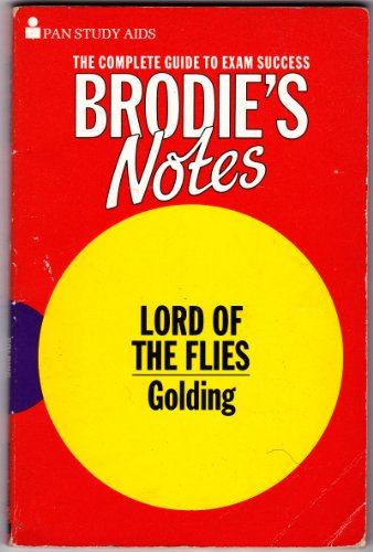 9780330500173: Brodie's Notes on William Golding's