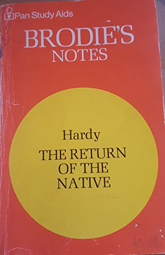 9780330500302: Brodie's Notes on Thomas Hardy's