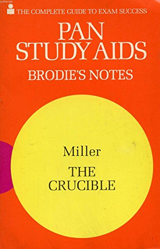 9780330500494: Brodie's Notes on Arthur Miller's