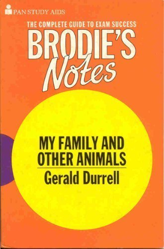 "Brodie's Notes on Gerald Durrell's ""My Family: Hardacre, Kenneth"