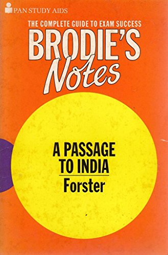 "Brodie's Notes on E.M.Forster's ""Passage to India"": J.A. Boulton, E."
