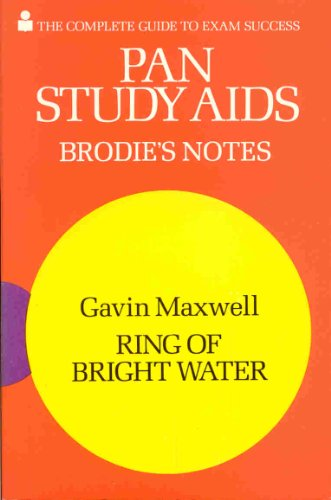 9780330501859: Brodie's Notes on Gavin Maxwell's
