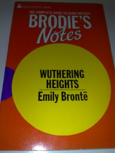 9780330502177: Brodie's Notes on Emily Bronte's
