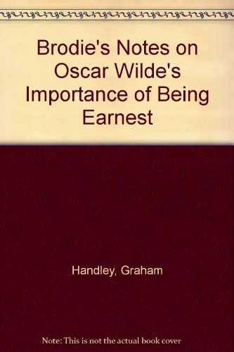 9780330502603: Brodie's Notes on Oscar Wilde's