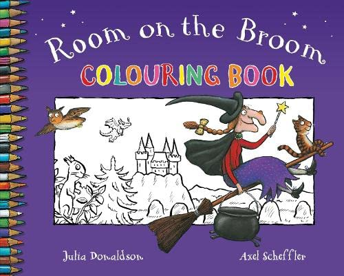 9780330505925: Room on the Broom Colouring Book