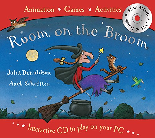 9780330508919: Room on the Broom Book and Interactive CD
