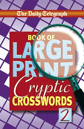 9780330509718: The Daily Telegraph Book of Large Print Cryptic Crosswords 2