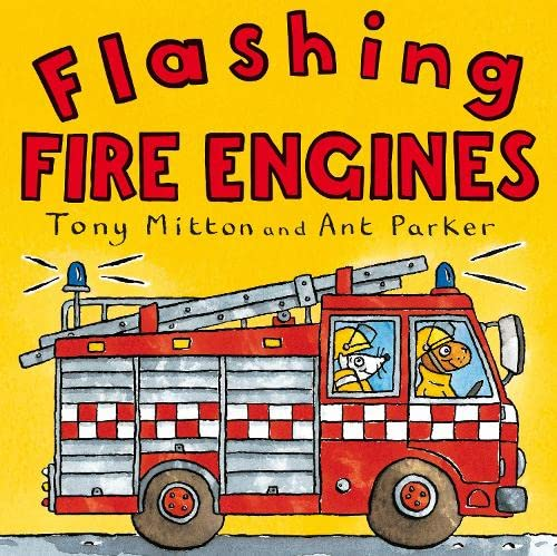 9780330518611: Amazing Machines: Flashing Fire Engines