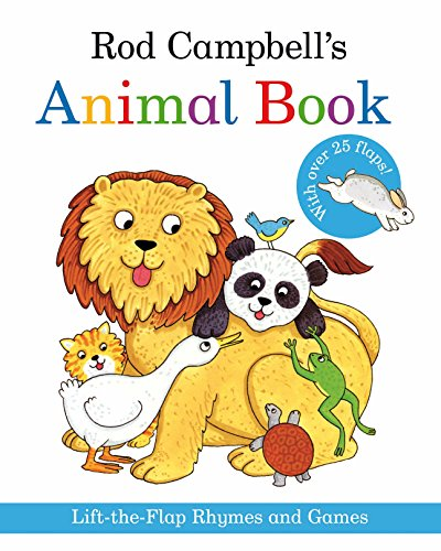 9780330518772: Rod Campbell's Animal Book: Lift-the-Flap Rhymes and Games