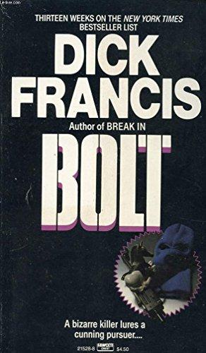 9780330519205: Bolt