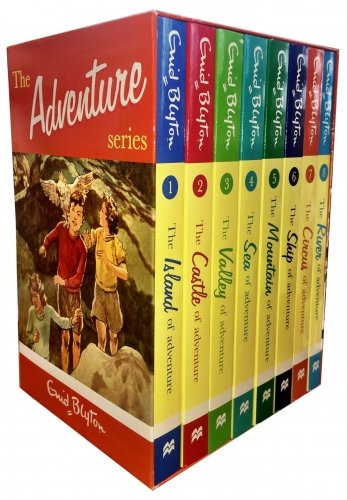 9780330520591: Enid Blyton Adventure Series 8 Books Box Set Collection Children Classic Books